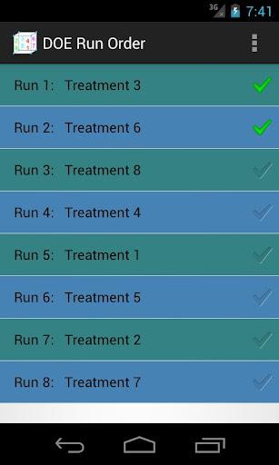 【免費工具App】DOE Run Order-APP點子