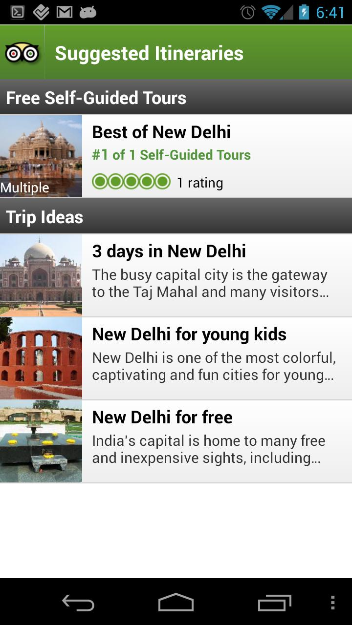 New Delhi City Guide screenshot #4