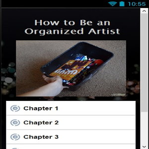 How to Be an Organized Artist screenshot 1
