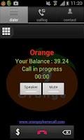Screenshot of Orange Dialer