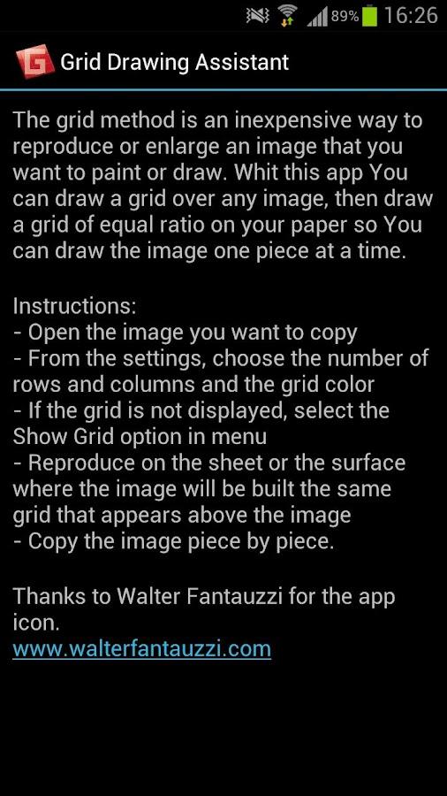 Grid Drawing Assistant- screenshot