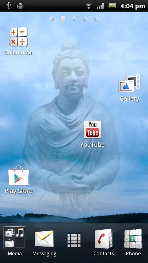 Buddha Live Wallpaper - screenshot