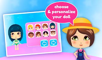 Screenshot of Dress up Dolls