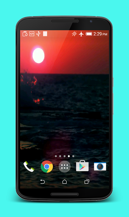 sunset hd live wallpaper android apps on google play
