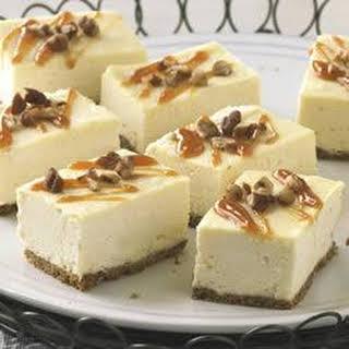 PHILLY Caramel Cheesecake Bars.
