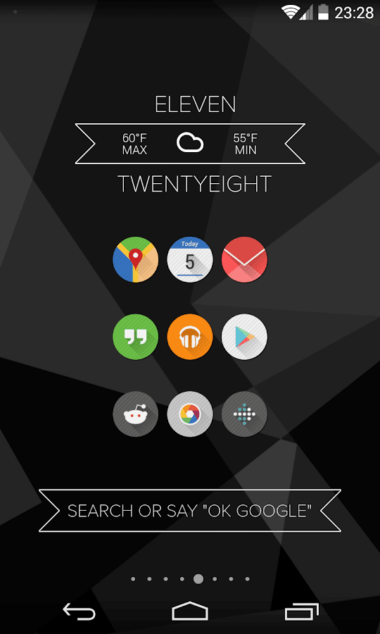 Struktur Icon Pack- screenshot