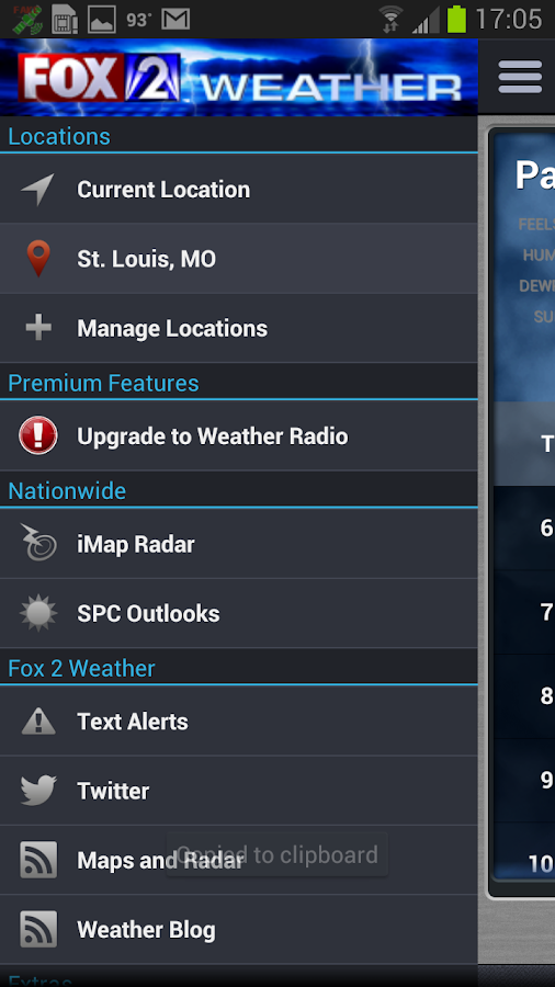 FOX 2 Weather - screenshot