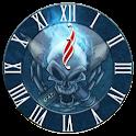 Skull Clock 3 Widget Clock logo