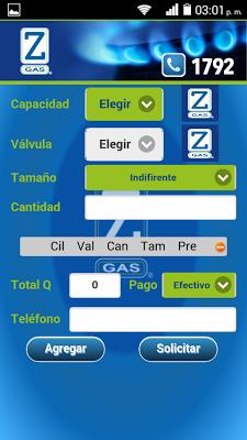 Zeta Gas Guatemala - screenshot