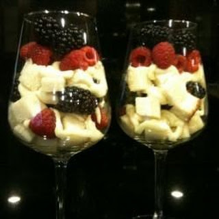 Lemon and Raspberry Trifle in Mason Jars