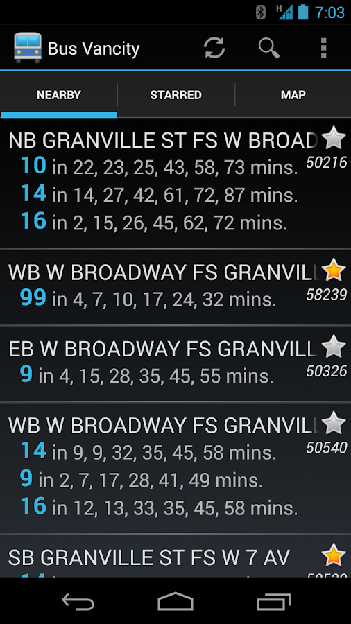Bus Vancity- screenshot