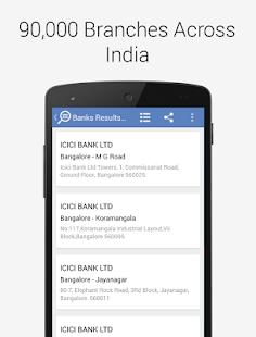 Bank IFSC MICR Code Finder - screenshot thumbnail