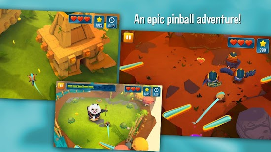 Momonga Pinball Adventures - screenshot thumbnail