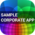 Sample Corporate App icon