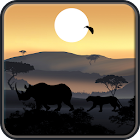 African Sunset Live Wallpaper icon