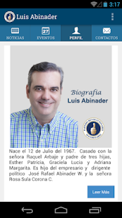 Luis Abinader- screenshot thumbnail