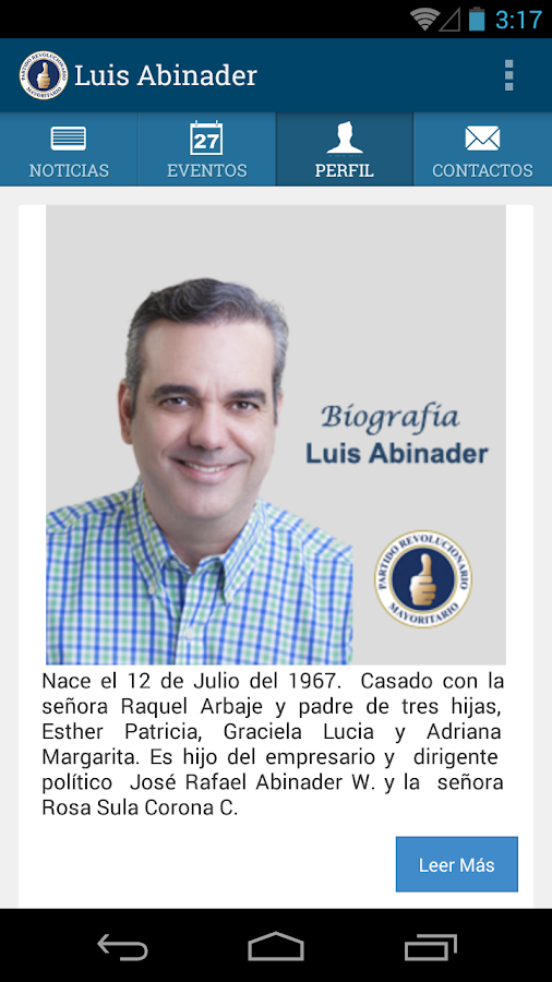 Luis Abinader- screenshot