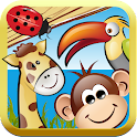 Im Zoo - Gratis Kinderspiel icon