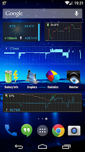 Battery Monitor Widget Pro V1.4.1 Mod APK 1