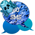 GO SMS - Sugar Skullz 4 icon