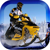 Snow Rally Moto Racing