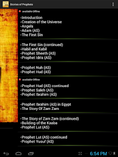 Quran Stories of Prophets- screenshot thumbnail