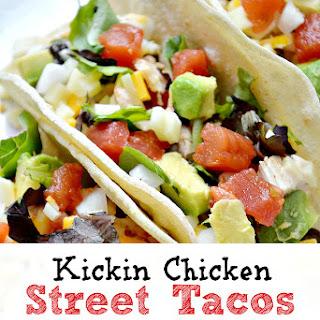 Kickin Chicken Street Tacos.