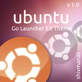 Go Launcher EX Ubuntu HD Theme
