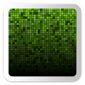 Green Squares Live Wallpaper
