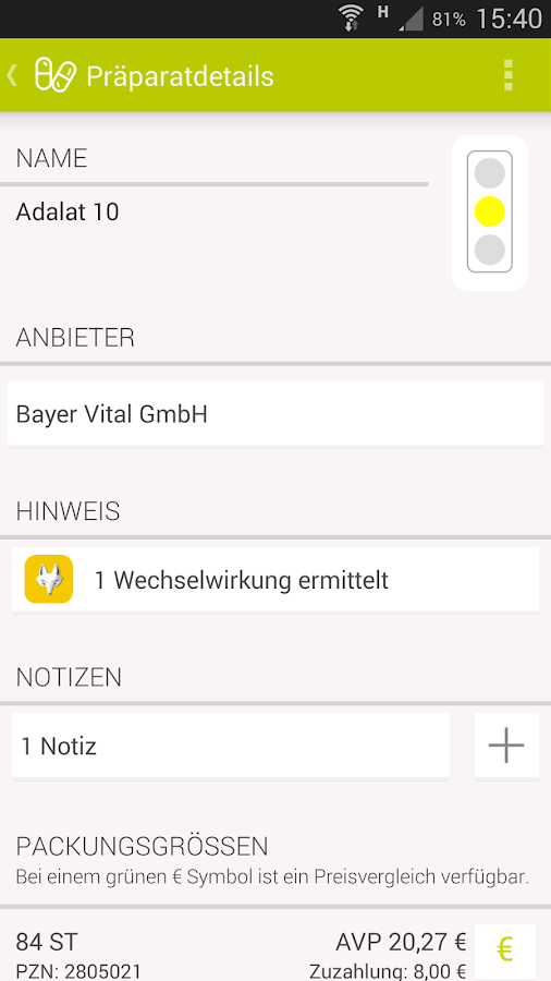 Arznei aktuell- screenshot
