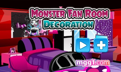 Monster Fan Room Decoration - screenshot thumbnail