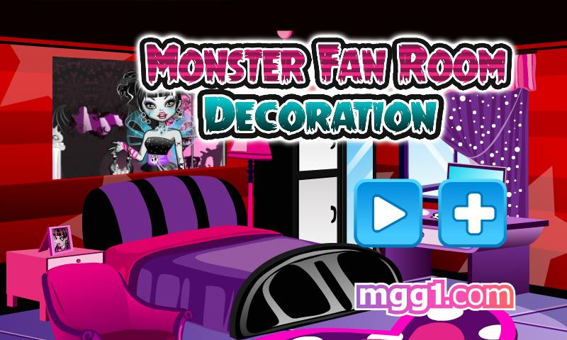 Monster Fan Room Decoration - screenshot
