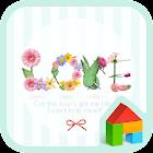 Flowertxt dodol launcher theme icon