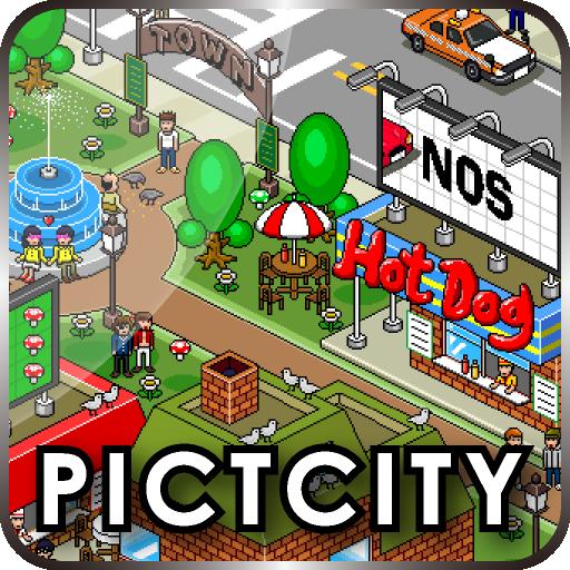 PICTCITY ~THE TOWN~ 個人化 App LOGO-APP試玩