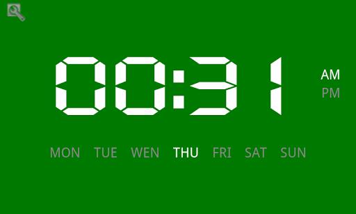 간단한 디지털 시계