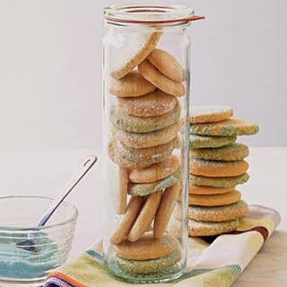 Sugar Sand Cookies.