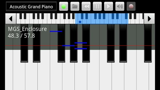 xPiano - screenshot thumbnail