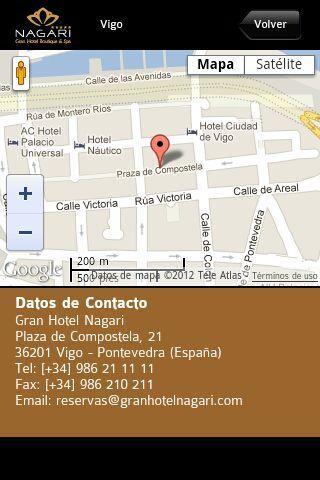 Grupo Solvida Hoteles- screenshot