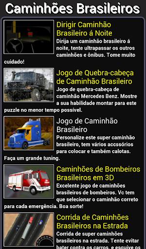 Jogos de caminhões brasileiros