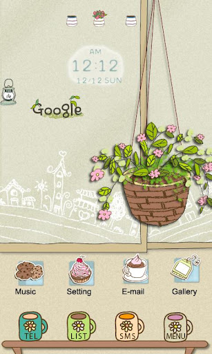 CUKI Theme A Pot in a Café