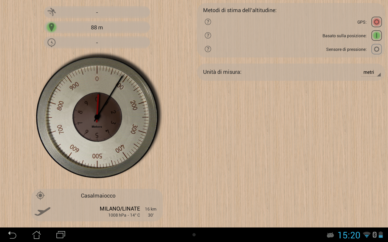 Accurate Altimeter PRO- screenshot