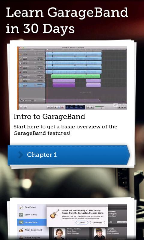 Learn GarageBand in 30 Days - screenshot