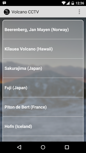 volcano cctv webcams