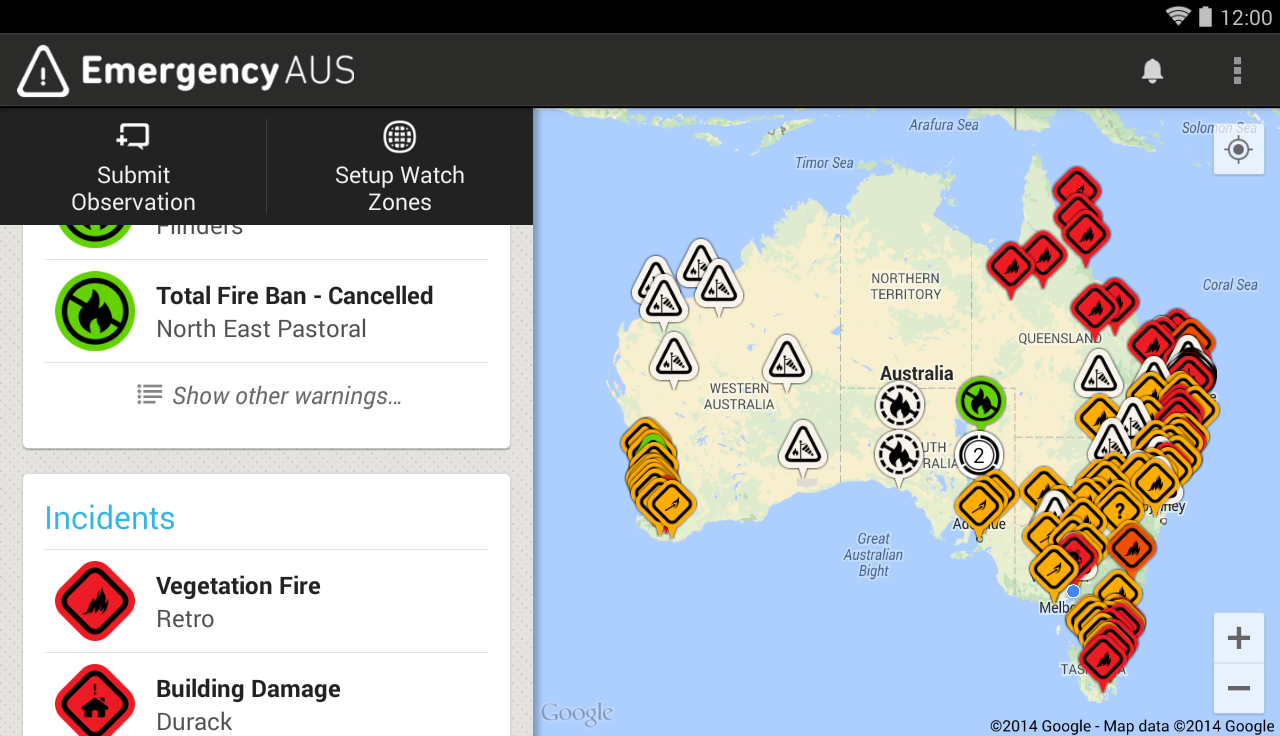 Emergency AUS- screenshot