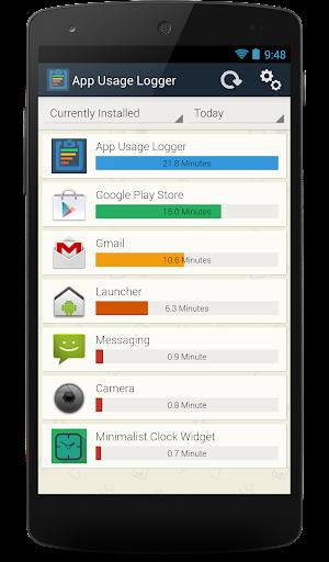 App Usage Logger
