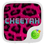 Pink Cheetah GO Keyboard Theme 3.87 Apk