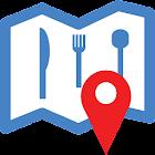 Find Restaurants Near Me icon