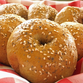 Pumpkin Spice Bagels
