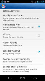Alarm Weather (Alarm Clock) Screenshot 5