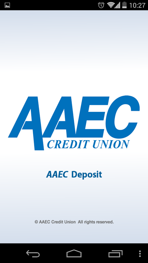 AAEC Deposit- screenshot